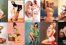 Pin-ups / by Kayla Walters
