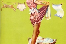 I really, really want a clothesline / by Ellen Haney