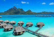 places I want to go / by Jalaina Johnson Kanatzar