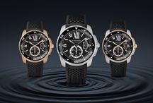Calibre de Cartier Diver / Calibre de Cartier Diver: undeniable style and high performance in an authentic diver's watch  / by Cartier
