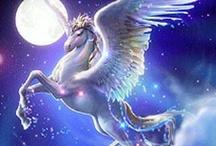 Pegasus/Unicorns/Alacorn / by Monique Morales