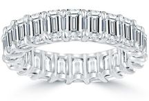 Dazzling Eternity Bands / by Liori Diamonds