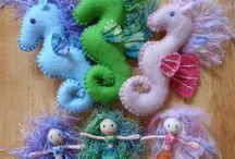 felt crafts / by Tammy Stanford