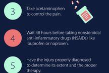 Injuries  / by Gatti Pharmacy