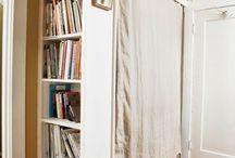 Bookcases, Storage & Built-ins / by Connie Stinsen