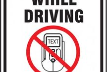 April is No Texting and Driving Month / Distracted driving / by Accuform Signs