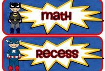 3rd grade Superheroes / by Kate Weihe