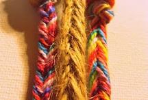 friendship bracelets / by Hannah Little