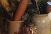 Background  / by Primitive Folk Artist Sue Corlett
