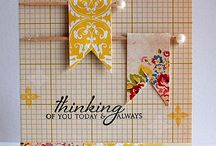 cards and scrapbooking / by Melissa Veen