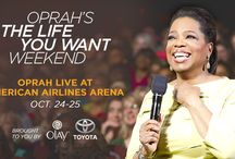 "Oprah's the Life you Want Weekend / Oprah Winfrey to headline unprecedented multi-city U.S arena weekend tour in Fall 2014  Coming to AmericanAirlines Arena October 24-25, 2014!  Harpo Studios and William Morris Endeavor Entertainment Join Forces for ""Oprah's The Life You Want Weekend""  One of the world's leading beauty brands, Olay, and one of the world's top automakers,Toyota, sign on as presenting sponsors  Tickets On Sale Now >  Click here to buy your tickets    / by AmericanAirlines Arena"