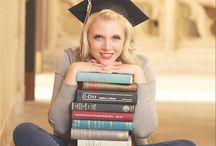 College graduation!! / Picture ideas Party ideas Cap decorations  / by Kayla Marie