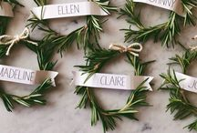 Decorative Details / All the little touches that make a big impact. / by FoxtailCottage Floral