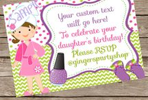 Invites / Digital Invites / by Gingersnaps!