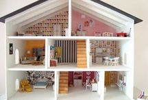 ALL ABOUT KIDS!(Dolls) / Brilliant dollhouse finds for my girlies! And me.... / by Brittany Burton Wilkinson