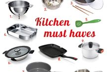 Must-haves for the kitchen / What essentials does every cook need in the kitchen? We selected ten items that will kick-start all your cooking adventures. Read more here: www.beka-cookware.com/blog/must-haves-for-the-kitchen / by Beka Cookware