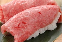 Sushi and Sashimi / Food / by Maria Efthymiou