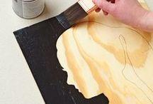 DIY wall art & paintings / by Kelli Jordan