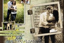 Scrapbook Ideas / by Gillian Cossins