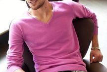 Men Wear Pink  / Do you like to see pink on real men?  If you like,just check it. / by Namfon Shanie