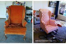 Furniture and fabric  / by Nichole Pierce Swift