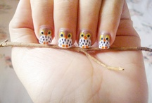 Nail-rrific! / Can you believe these nails? So can't I. But have faith, people. / by ning fathia