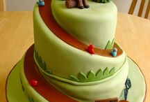 Sculpted Cake Tutorials / by Siobhan Beatty