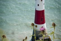 Lighthouses and sailing ships Ahoy! / by Gale Bear