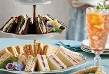 Tea Party Food- Tre' Chic / by Lisa Thelin