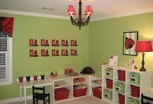 Bedrooms/Playroom / by Sadie Donaldson
