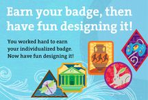 Make Your Own Badge -- Junior Girl Scout Badge / Requirements for Junior Badge Make Your Own  1. Pick a topic.  2. Learn. 3. Do: Put your plan into action -- feel free to take all the time you need. 4. Share: When you're done, talk to your adult helper about what you learned.  5. Make your badge:  With your trusted adult, visit www.gsmakeyourown.com. You'll find a ton of pictures that you can use to create your badge online. Follow the directions and submit your design. The badge will be mailed to you later. / by Junior Girl Scout Badges