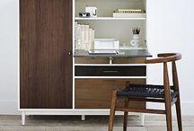 Office/living room / by Kate Gordon