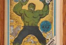 The Incredible Hulk Collectables / by Matthew Pedersen