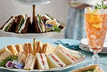 Afternoon Tea  / A pot of tea, a sandwich or two, little cakes and bubbles too.  / by Daisies & Pie