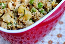Rice, quinoa and other grains / by Carleigh