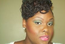 Natural Hair Styles for Black Women / Protective styles for natural hair / by Such_a_Lady215