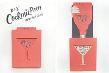 <Event> invitations and escort cards / by Julia Erratt