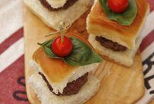 sandwichs and pizza / by Gloria Jackson