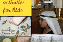 Ancient Egypt activities / by Funky Chicken