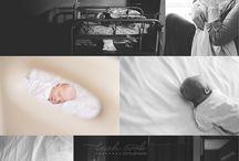 newborn hospital photography / by Abby Copp