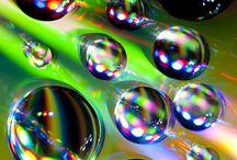 Bubbles, Water Droplets, & Rain! / by Vicki K.