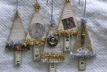 diy christmas decorations / by Lavinia Dow