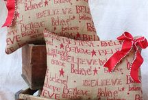 Kerstkussens - Christmas pillows / by Christmaholic.nl - kerst