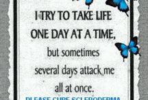 scleroderma fight / by Kara McNeese