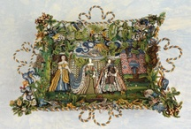 Beautiful Textiles and Needlework Embroidery / Beautiful Textiles / Needlework and Costume. I just admire the skill, patience and time that went into the making of these beautiful things!!! Textiles are a bit of an obsession.Please like me on Facebook for further Interior Design and Textile Inspiration. / by Alison Dodds