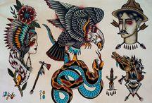 Tattoos / by Alicia Hawley