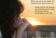 Prayers and Bible versus / by Lucille Williams