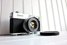 camera lust / cameras and camera accessories  / by Ashley
