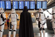 DIA Celebrates Star Wars Day / Denver International Airport celebrated Star Wars Day - May the 4th Be With You / by Denver International Airport
