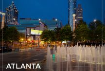 Atlanta / What's it like to live in Atlanta? We're house hunting in the A-T-L!  / by HGTV FrontDoor.com